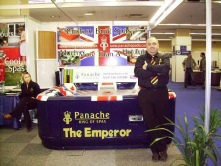 Panache Pools launch Panache - King Of Spas at Spatex 07
