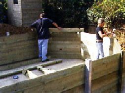 Bayswater Self Build Wooden Pool Kit - Plastica