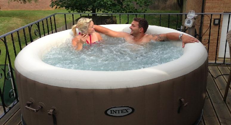 intex purespa bubble theraapy jet massage pure spas. Black Bedroom Furniture Sets. Home Design Ideas