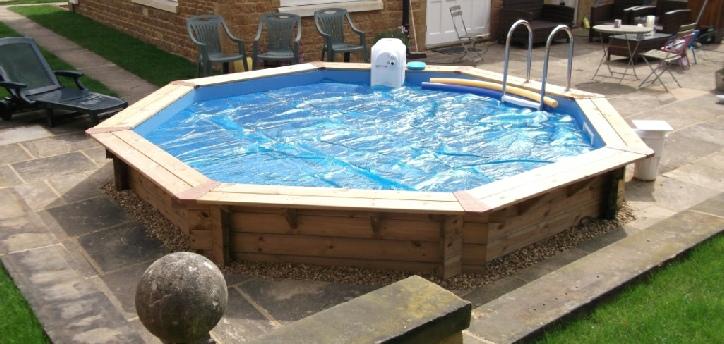 Octagonal Wooden Pool